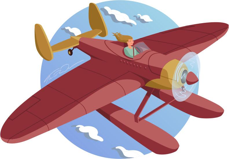 Seaplane by Tania Fordwalker